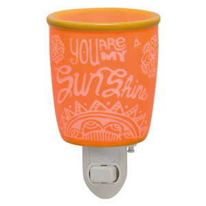 You Are My Sunshine Nightlight Warmer