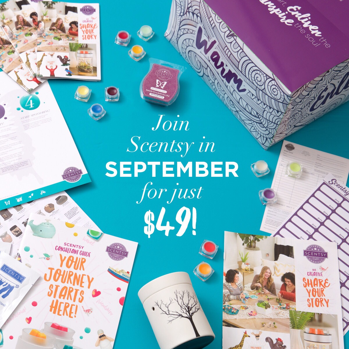 Join Scentsy on September