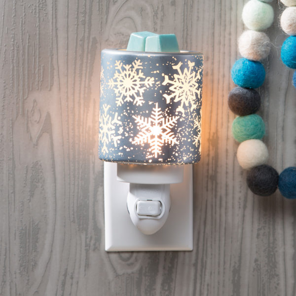 Falling Snowflakes Scentsy Warmer