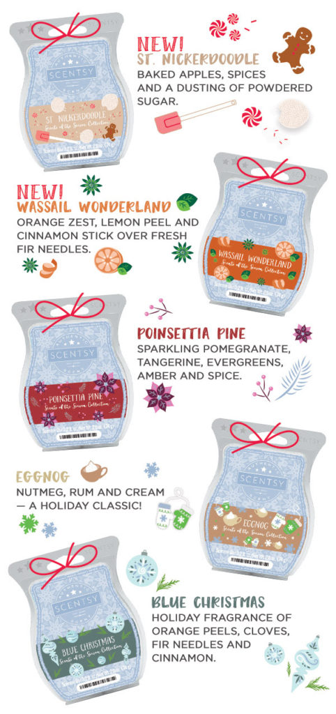 New Scentsy Holiday Scents