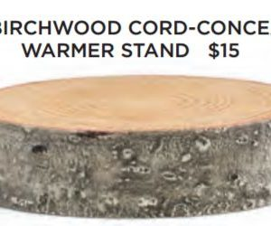 Birchwood Candle Warmer Stand