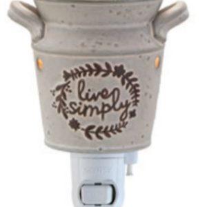 Scentsy Live Simple Nightlight Warmer