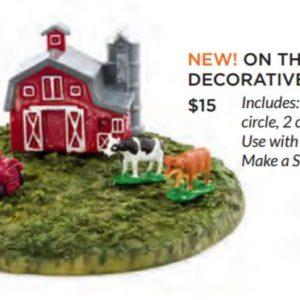 On the Farm Decorative Scene