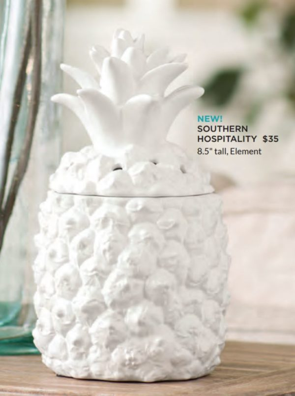 Southern Hospitality Scentsy Element Warmer