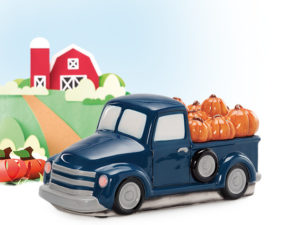 scentsy pumpkin delivery truck