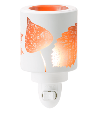 Amber Leaves Scentsy Nightlight Warmer