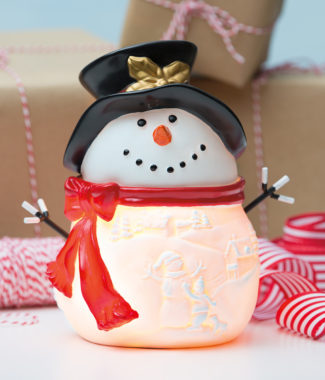 Build a Snowman Scentsy Warmer