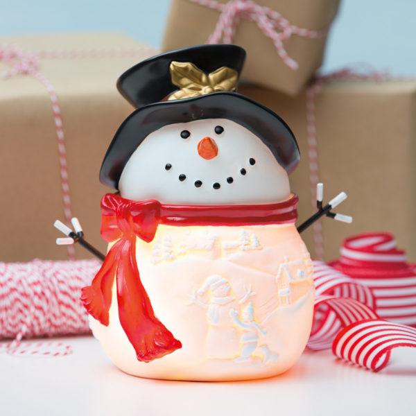 Build a Snowman Scentsy Warmer