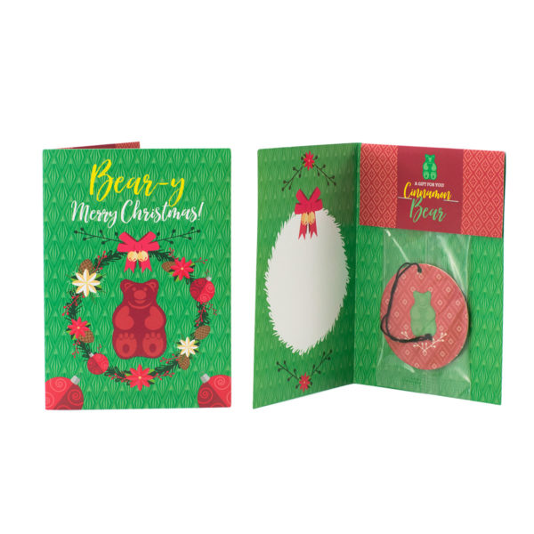 Cinnamon Bear Scentsy Holiday Greeting Card