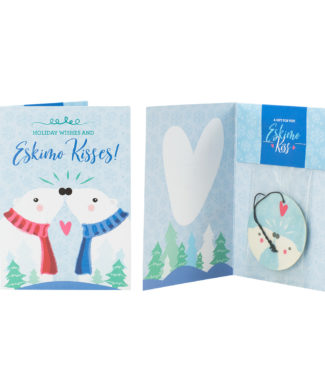 Eskimo Kiss Scentsy Holiday Greeting Card