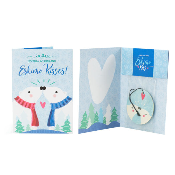Eskimo Kiss Scentsy Holiday Greeting Card