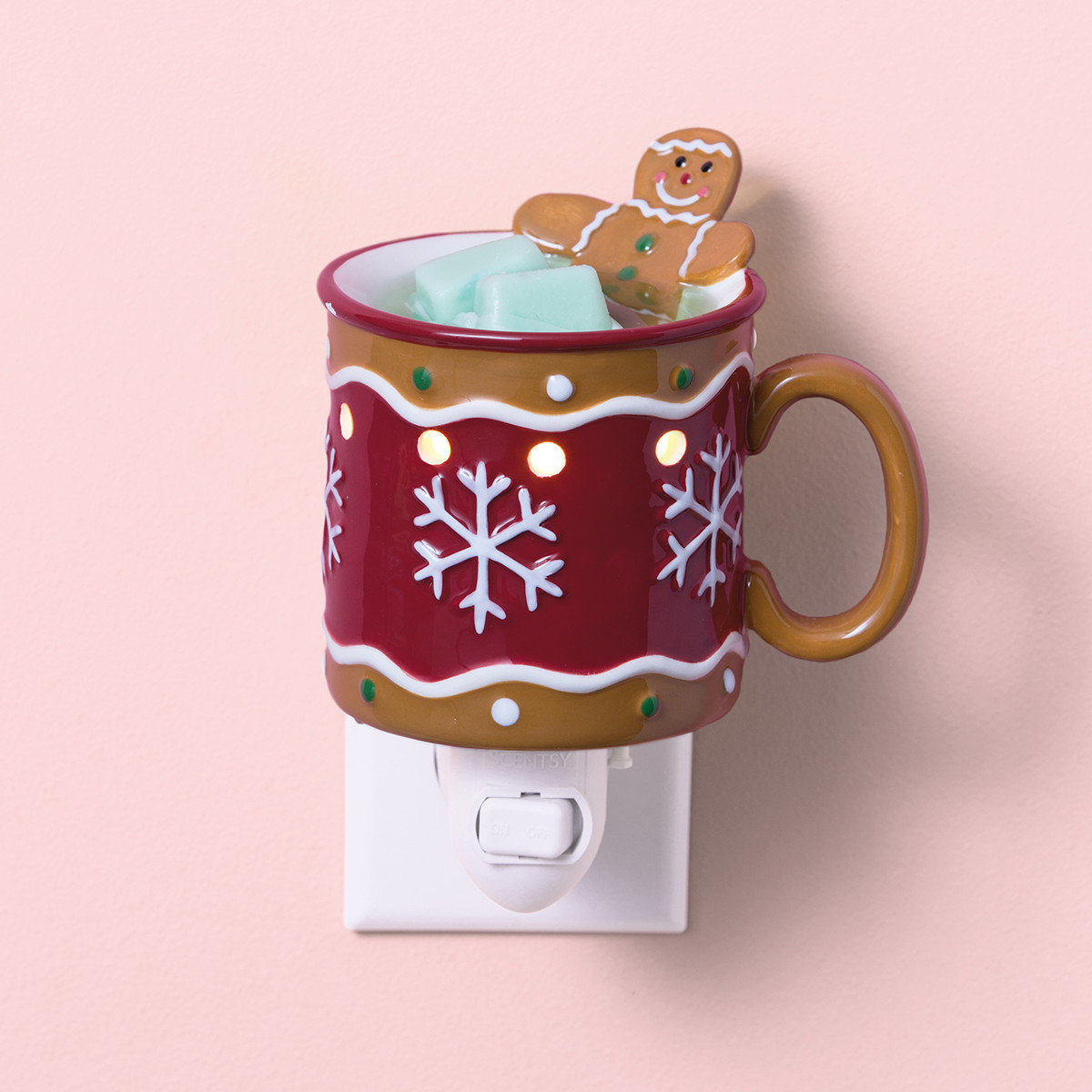 gingerbread man scentsy mini warmer scentsy warmers the safest
