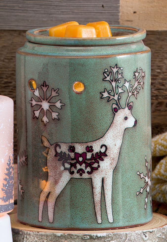 Winter Stag Scentsy Warmer - Buy Scentsy the Safest Candles
