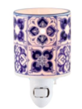indigo tile nightlight warmer