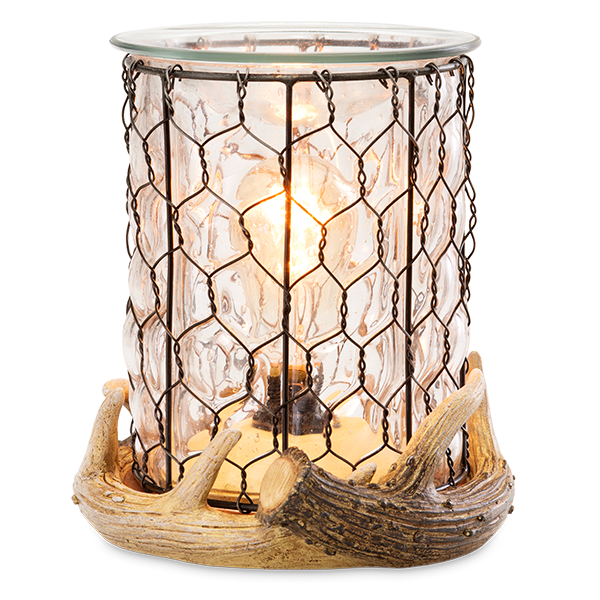 antler lodge scentsy warmer scentsy glass antler candle warmer