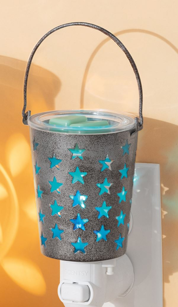Seeing Stars Scentsy Mini Warmer Scentsy Candle Warmers The Safest Candles